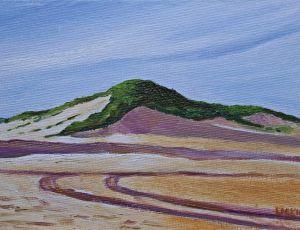 Dune Study #2 - Sand Tracks