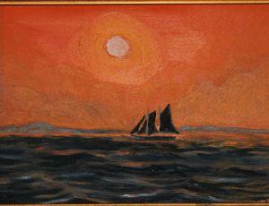 Sunset Schooner