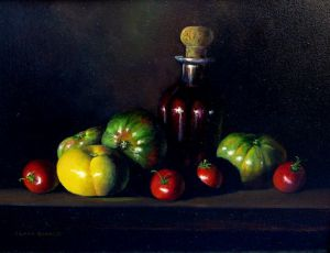 Balsamic Vinegar & Heirloom Tomatoes