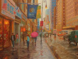 Rain, 8th Avenue
