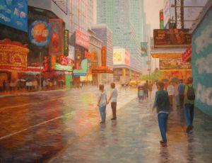 Rain, W. 42nd Street