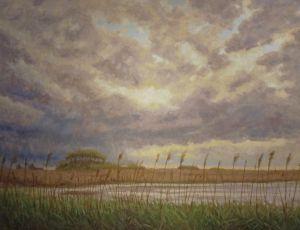 Storm Approaching Pilgrim Lake