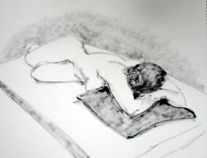 Reclining Woman Prone