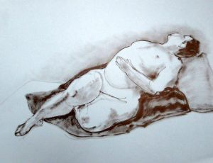 Reclining Woman Supine