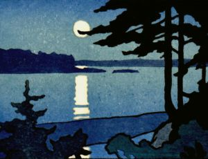 Moonlight, Passamaquoddy Bay