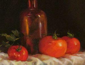 Ripe (Three Red Tomatoes)