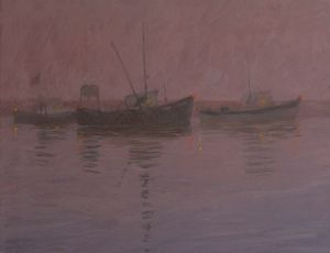 Dawn, Provincetown Harbor