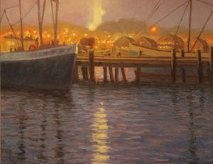 Evening, MacMillan Wharf