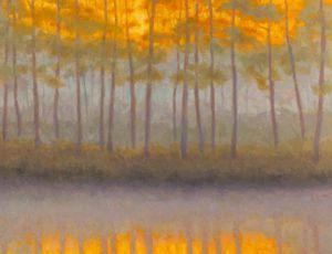 Evening Mist Rising