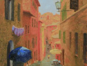 Rain, Siena