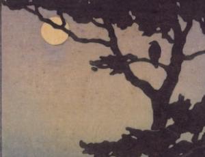 Moon & Crow