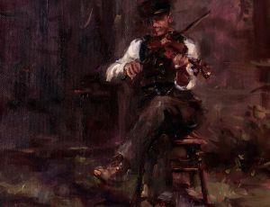 Evening Fiddler