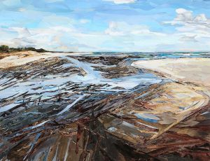 Mayflower Beach III by Carol Flax