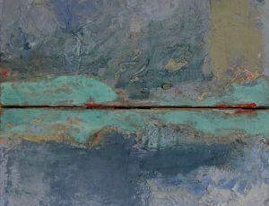 Ocean Floor (diptych)