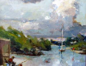 Cloud Fisher by Joseph Palmerio