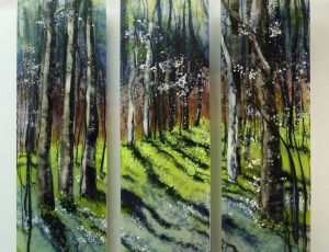 Into the Woods I Find my Soul by Alice Benvie Gebhart