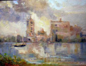Misty Morning by Joseph Palmerio