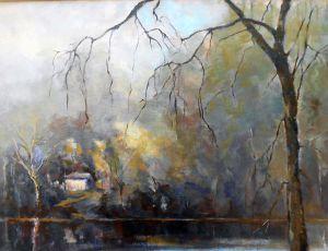 Quiet Grays by Joseph Palmerio