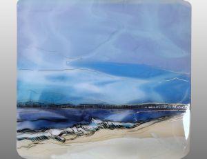 Rhapsody in Blue by Alice Benvie Gebhart
