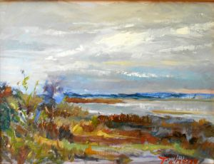 The Gray Grass by Joseph Palmerio