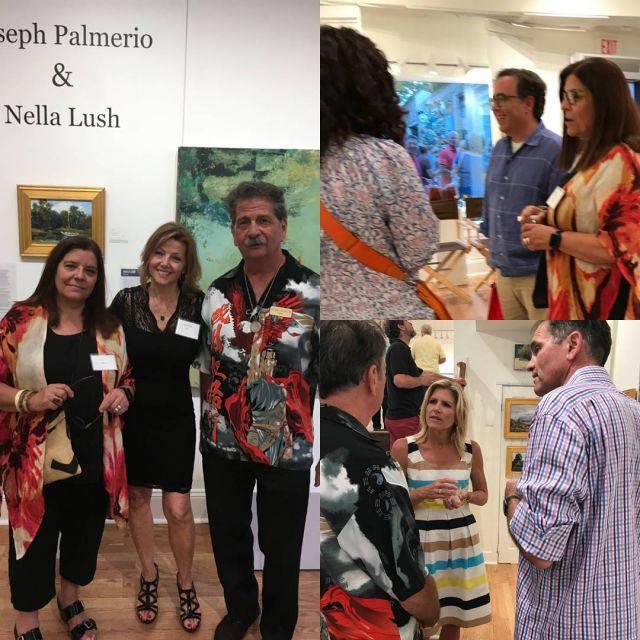 Great reception for nellalush and josephpalmerio Beautiful impressionistic and abstracthellip