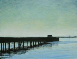 Coast Guard Pier Morning Mist