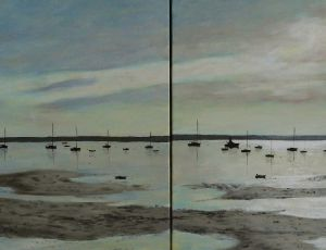 Harbor Expanse (diptych)