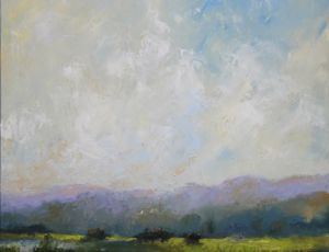 Spring Pasture by Lorrie La Pointe