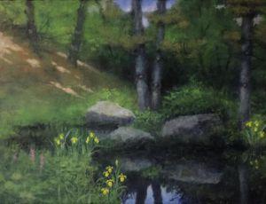 Wild Iris by George Marks