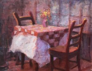 Table for Two by Kathy Morrissey