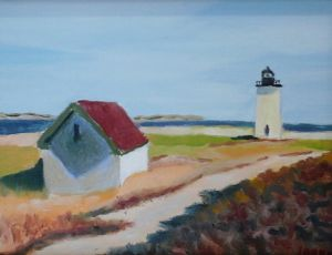 Oil House at Long Point