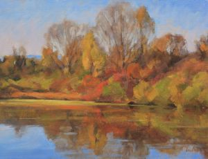 October Reflections by James Coe