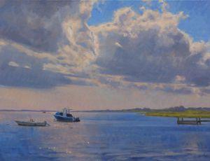 Salt Pond Sky by James Coe