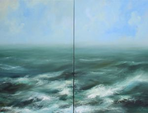 Cool Water (diptych)