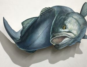 Leaping Bluefish by Timothy Ering