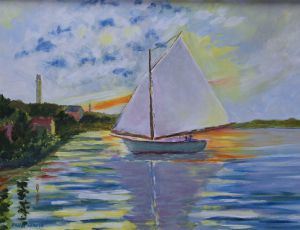 Monet on the Bay by Brian Larkin