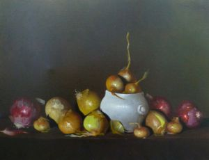French Onion Soup & a White Bowl