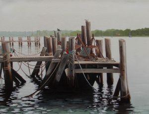 Fishing Dock by John Mansueto