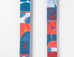 Two Scrolls by Carol Rissman