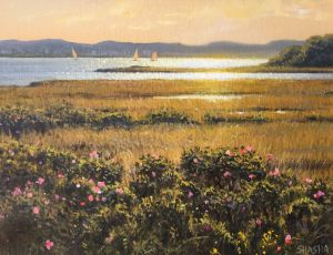 West toward the Roses by Mark Shasha