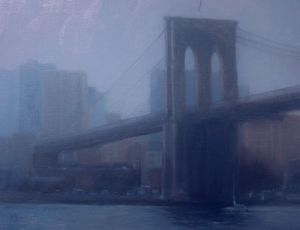 East River Morning by Linda Armstrong