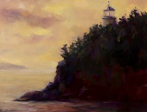 Owls Head Light at Dusk