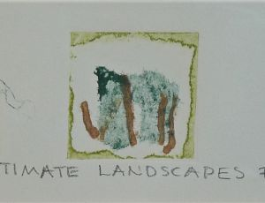 Three Intimate Landscapes #5
