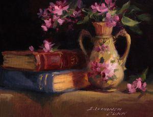 Austrian Vase & Books