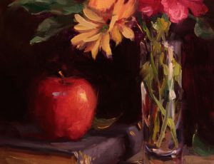 Red Apple & Carnations