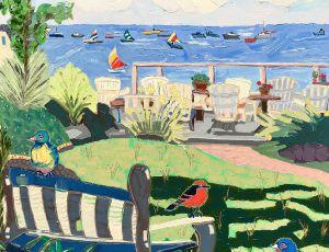 Becky, Zoe & Abigail Visit Provincetown by Nan Hass Feldman
