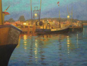 Dusk, the Wharf