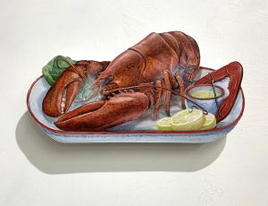 Lobster on Platter
