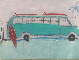 Surf Bus by Richard Hamilton