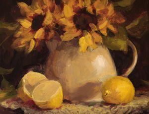 Sunflowers & Lemons